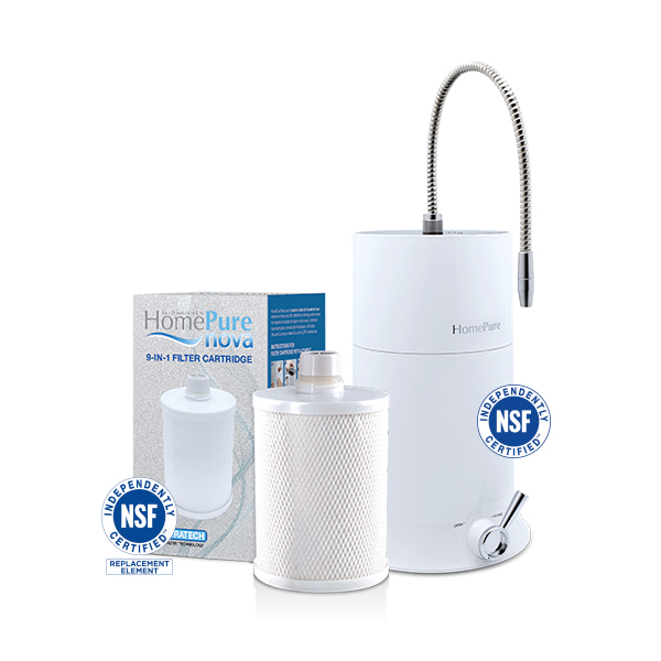 HOMEPURE NOVA WATER FILTRATION SYSTEM - QNET